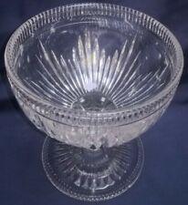 PRESSED GLASS VINTAGE BONBON  DISH/SUGAR BASIN