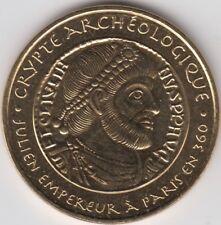 Token Archaeological Crypt of Julien Emperor of France Monnaie of Paris 34mm UNC