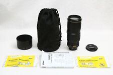 Nikon AF-S 70-200mm f/4 G ED VR IF Nikkor Lens GREAT WORKING Digial SLR Camera