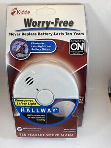 Kidde Photoelectric Smoke Alarm emergency Hallway Safety Light 10 Year Battery