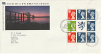 21 MARCH 1989 SCOTS CONNECTION ROYAL MAIL FIRST DAY COVER BUREAU SHS