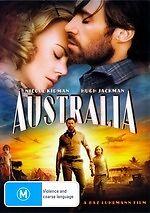 Australia * NEW DVD * Hugh Jackman Nicole Kidman (Region 4 Australia)