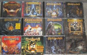 BLIND GUARDIAN – Sammlung, Paket – 12 Alben, 17 CDs