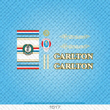 Carlton Criterium Bicicletta Decalcomanie-Transfers-ADESIVI-SET 1517