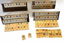 Vintage Pressman Miniature Travel Rummikub Rummy Tile Game No Instructions S