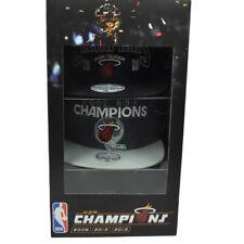 NBA Miami Heat Limited Edition Champions Set 2006 2012 2013 Hats Adidas Adjusta