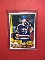 1980 Topps Hockey #87 Wayne Gretzky Edmonton Oilers HOF All-Star