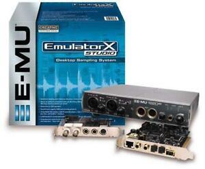 New Emulator X Studio Desktop Sampling System