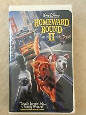 WALT DISNEY HOMEWARD BOUND II LOST IN SAN FRANCISCO VHS MOVIE