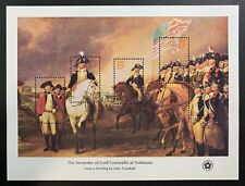 1976 US Bicentennial Souvenir Sheet Collection Scott #1686-89, MNH with Envelope
