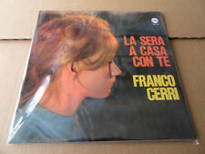 FRANCO CERRI A CASA CON TE CGD REISSUE BTF ITALY LP ITALIAN JAZZ