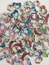 Lot Of 50Hello Kitty Pendant Charm  DIY Necklace Finding