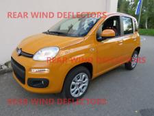 Fiat Panda mk3 5door HTB 12-onwards REAR set Wind Deflectors TINTED RAIN GUARDS