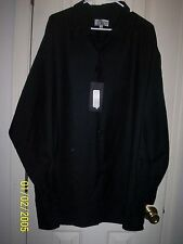 REDUCED! Smokey Joe's Black Men's Dress Shirt Sz XXL NWT REDUCED AGAIN!