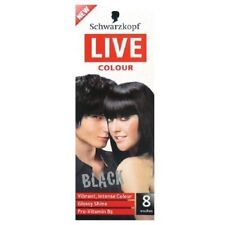 Schwarzkopf Live Colour Black Hair Care Colouring