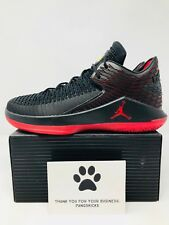 2c050e453b0b30 Nike Air Jordan 32 Low  Last Shot  Black Red AA1256-003 Size 11.5