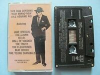 I.R.S. Hearing Aid Fall 1985 Promo ~ Various Artists – Cassette WORKS IRS ~ REM