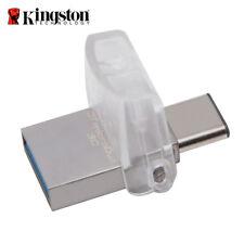Kingston DTDUO3C 32GB Data Traveler Micro Duo USB U3.1 Type-C OTG Unidad Stick