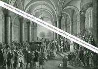 Abschied von König Otto von Griechenland in München Nach einem Gemälde - um 1930