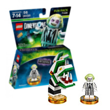 New LEGO Dimensions Beetlejuice Fun Pack w/ Saturn's Sandworm Official