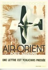 MENU / AIR ORIENT / MOSCOU PARIS EN BOEING JET INTERCONTINENTAL