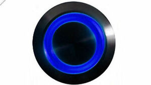SW1912M-H-B 19mm Vandal Resistant Illuminated (Blue) Momentary Switch