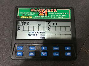 RADICA # 1450 BLACKJACK 21 and RTSI 3 CASINO GAMES HANDHELD