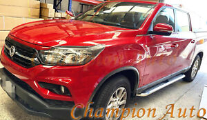 SsangYong Musso / Musso XLV Dual Double Cab 4 DOORS Side Steps 2019 -2021(CMP94)