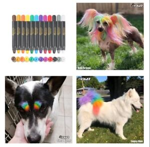PET Paint Pen Set 🐾 Dog Cat Horse Temporary Color Washable Art