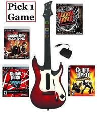 NEW PS3 Wireless Guitar Hero 5 Controller & 1 Guitar Hero/Rock Band Game Combo
