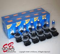 12V 37.5w 894 Super White 5000K Xenon Gas HID Foglight Light Bulb 10pcs (5pair)