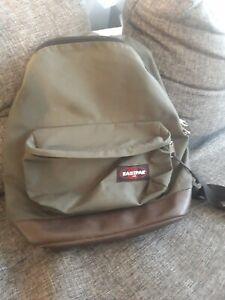 Eastpack Rucksack Mit Lederboden