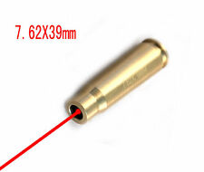 US CAL 7.62X39mm Red Laser Bore sight Bullet Cartridge Bore Sighter Boresight