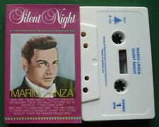 Mario Lanza Silent Night inc Joy to The World + Cassette Tape - TESTED