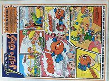 m17a8 ephemera 1990s advert mcvitie's mcvities jaffa cakes circus