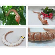 Remote Control Snake Rattlesnake Animal Trick Terrifying Mischief Toy Orange