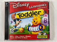 2001 Disney Learning | Winnie the Pooh & Mickey Mouse | PC Learning Game Win/Mac