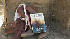 Lonesome Dove Gus Bandana & Western Novel T.H. Elkman, autographed, SASS Cowboy