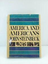 1st Edition America And Americans John Steinbeck Bresson Ansel Eisenstadt Rare