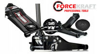 Cric rouleur surbaissé 3 Tonnes ForceKraft 75mm Professionnel GARANTIE 1 AN