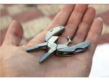 Pocket Tools Set Mini Foldaway Keychain Pliers Knife Screwdriver Multi Function