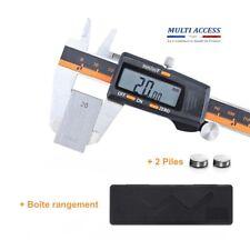 Pied à coulisse numérique 150 mm en acier inoxydable micromètre grand écran LCD