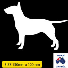 Bull Terrier 10cm X 10cm Window Sticker Decal Car, Ute, 4WD,Truck, funny