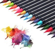 20 Farbe Aquarell Pinsel Aquarellpinsel Pinselstift Malerei Pinsel Brush A+