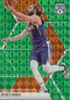 2019-20 Panini Mosaic Green Prizm Ricky Rubio #158 Phoenix Suns