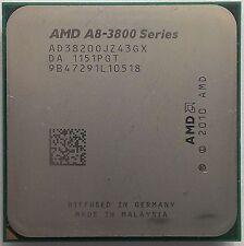 AMD A8-3820 AD3820OJZ43GX 2.5GHz 4M Cache FM1 4-Core 65W APU HD 6550D Processor