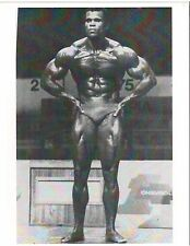 bodybuilder Serge Nubret at 1975 Mr Olympia Contest Bodybuilding Photo B&W