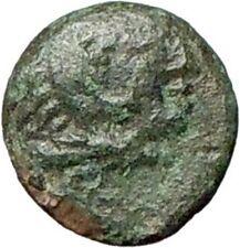 Greek City 250BC Ancient Greek Coin Hercules Bow Club Small size Rare  i28166
