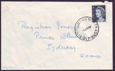 "QUEENSLAND  POSTMARK ""BUNDABURG NORTH "" ON COMMERCIAL COVER DATED 3/4/1969"