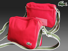 New Authentic LACOSTE Accross the body Shoulder Bag Casual 2.16 Red